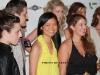 Designer Kristine Gottilla, Stylist Wayne Harris, Designer Meiling Chen, Marcy Clark and Models at Women\'s Mafia fashion show