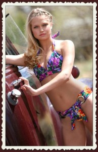 Gorgeous Handmade Bikinis by Belabunda will be in the show and then for sale afterwards.