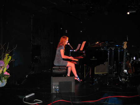 Alicia Witt has a great set of pipes and beautiful songs - look out for a Talent Q&A with her soon!