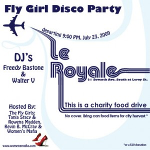 Fly Girl Disco Party