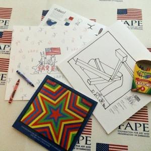 FAPE Coloring Kit