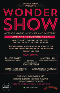 Wondershow Dec 29
